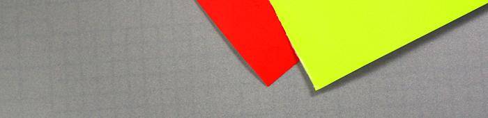 Klebefolie Neon und Milchglas